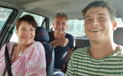 Familienbesuch, Innenausbau und CITR___ Saxo